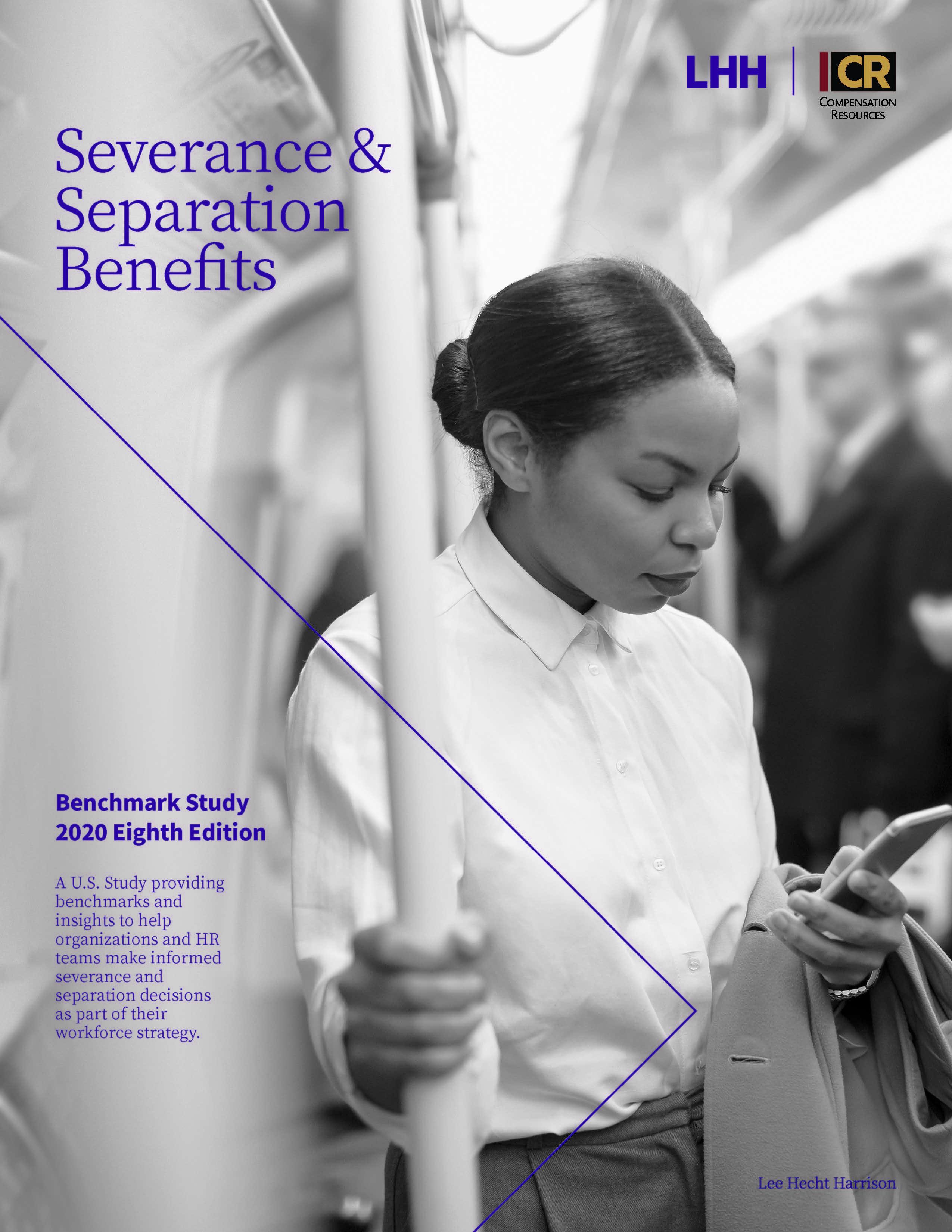 2020 Severance & Separation Benefits Survey COVER PAGE